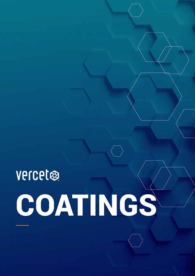 Vercet Coatings brochure cover